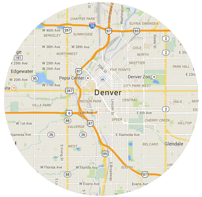 Denver Garage Door Service Areas