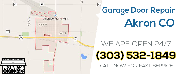 Akron Colorado Map.Garage Door Repair Akron Co Pro Garage Door Service